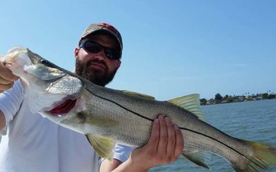 Spring Backwater Fishing for Snook & More with Charter Captain. Lahr