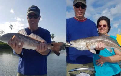Variable weather in Clearwater leads to harder times with the reel.
