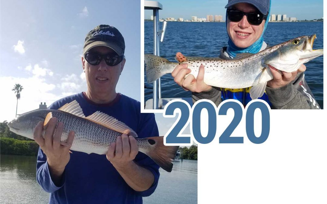 Targeting Redfish, Trout and Snook on the Clearwater flats & shallows in the New 2020 Decade