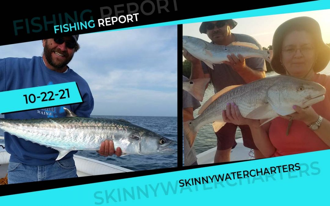 Cooler Weather Brings the King, Reds & More | Late Oct Fishing Report